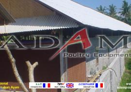 Pengerjaan Kandang Broiler Close House di Palangkaraya