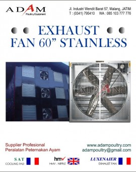Exhaust Fan 60 Stainless