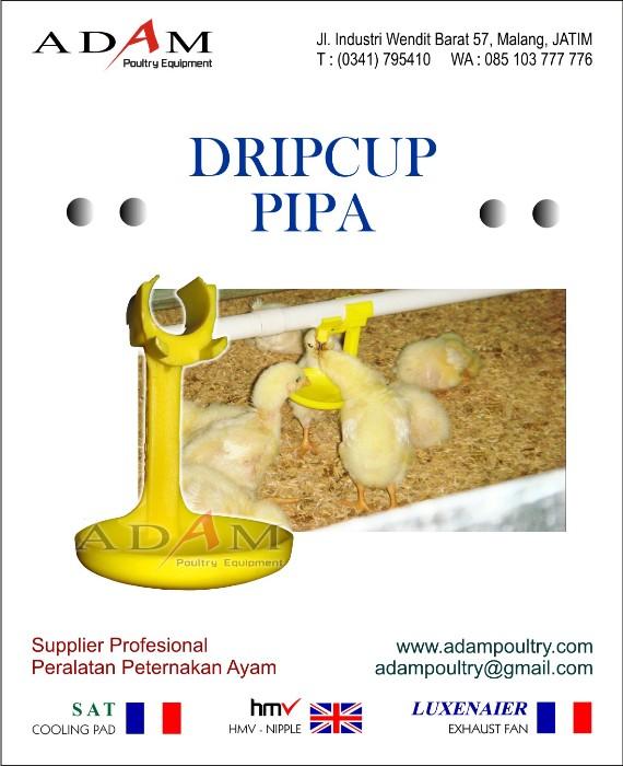 "DripCup Pipa 1/2"""