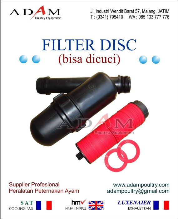 FIlter Disc filter air penyaring air