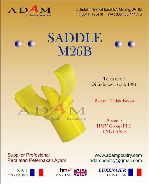 Saddle M26B nipple ayam