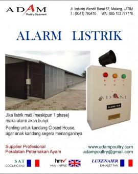 alarm listrik