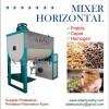 mesin mixer horizontal mikser horisontal campur aduk pakan ternak ayam