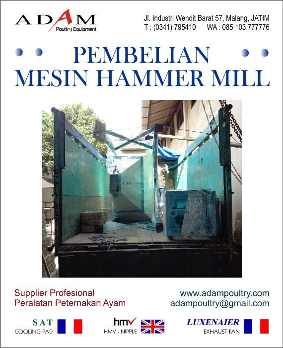 mesin giling jagung pecah pemecah penggiling corn mill hammer mill