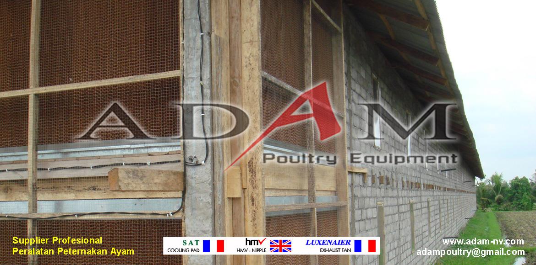 Pengerjaan Kandang Broiler Close House di Banjarmasin