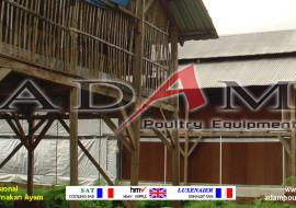 Pengerjaan Kandang Broiler Close House di Malang