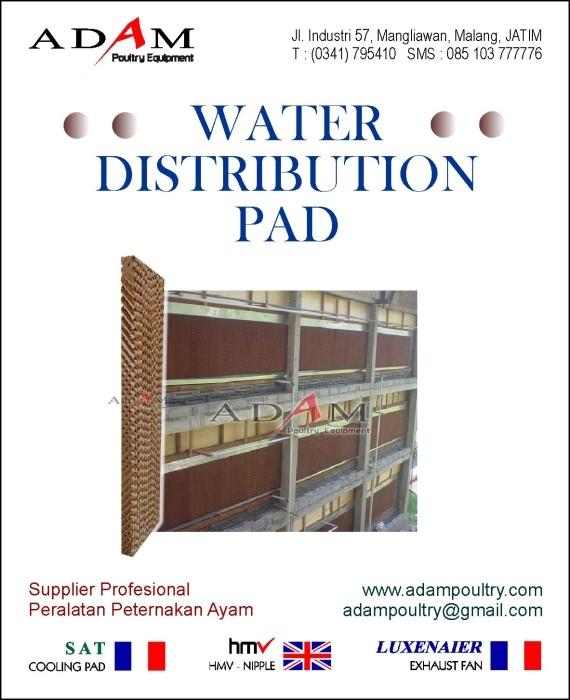 WDP, Water Distribution Pad, Kandang tertutup