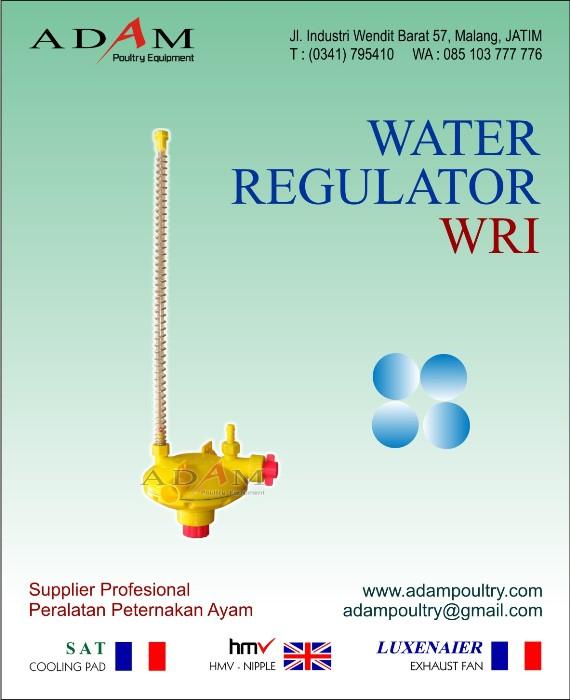 regulator air penurun tekanan air kandang ayam