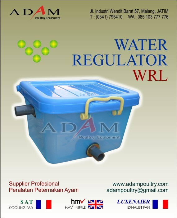 Box Air Penurun Tekanan Air – Water Regulator